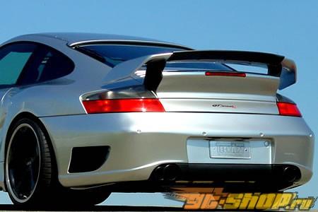 Задний бампер с парктрониками TechArt GT Sport для Porsche 996 Turbo C4S 2001-2005