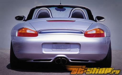 Диффузор на задний бампер TechArt для Porsche Boxster 97-02