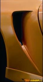 Воздухозаборники на задние крылья TechArt GT Street на Porsche 997 TT 07+