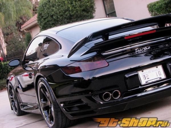 Диффузор на задний бампер TechArt на Porsche 997 TT 07+