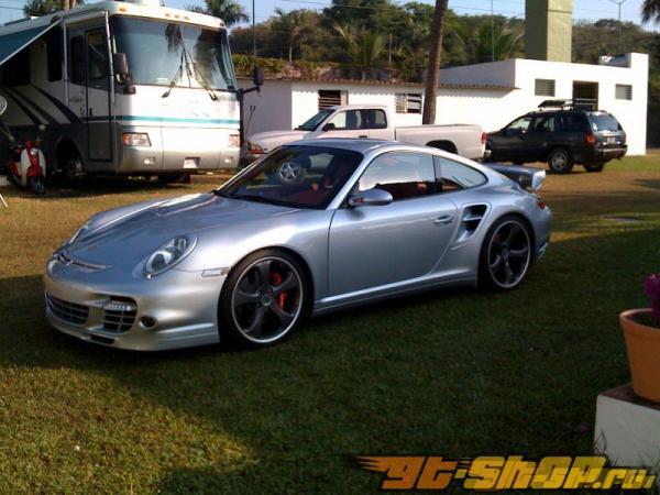TechArt Headlamp Cover Porsche 997 TT 07+