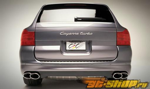 Задний бампер TechArt на Porsche Cayenne Turbo 2004-2007
