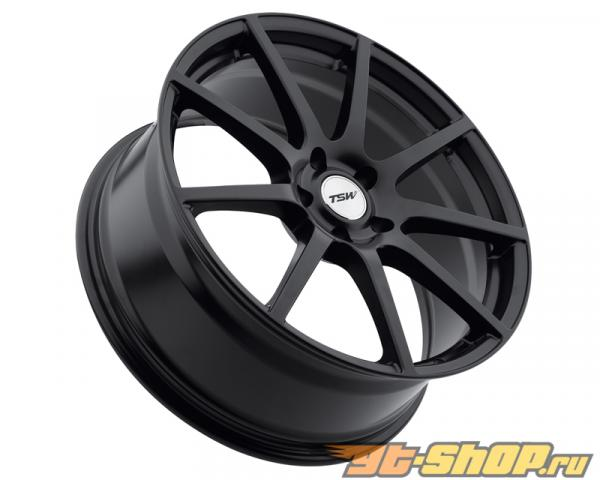 TSW Interlagos Matte Чёрный Диски 18x9 5x114.3 +63mm