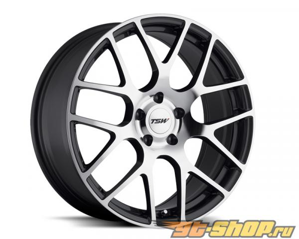 TSW Nurburgring Gunmetal with Зеркала Cut Face Диски 19x8 5x112 +45mm