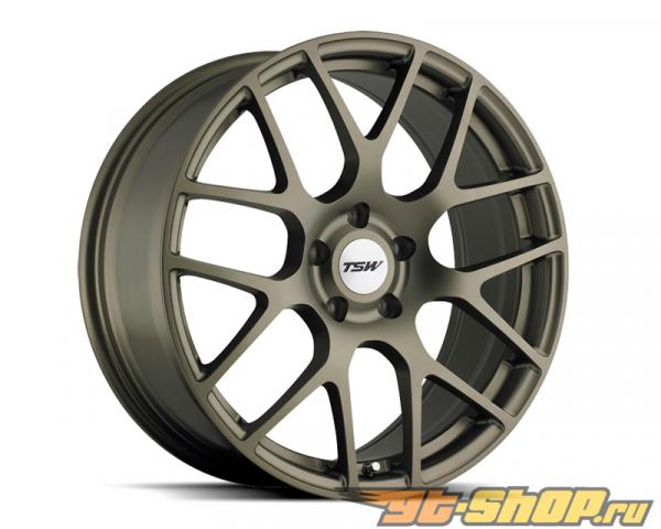 TSW Nurburgring Matte Bronze Диски 18x9.5 5x112 +53mm