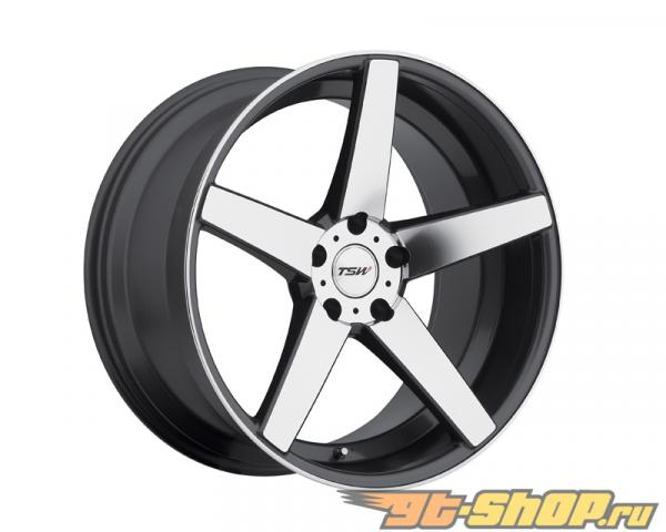 TSW Sochi Gunmetal with Зеркала Cut Face Диски 18x8.5 5x112 +32mm
