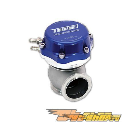Turbosmart Hyper-Gate 45 7 PSI Wastegate Синий