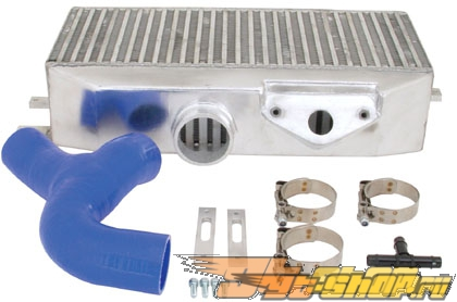 TurboXS Top Mount Intercooler комплект with Silicon Turbo to IC Hose [TXS-WRX-TMIC]