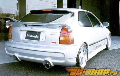 Спойлер Veilside ECI для Honda Civic EK Hatchback 96-98