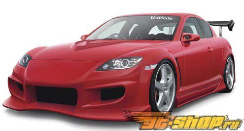 Пороги Veilside VS D1-GT на Mazda RX8 2004-2008