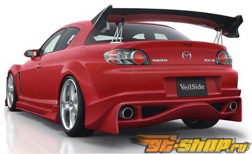 Задний бампер Veilside VS D1-GT на Mazda RX8 2004-2008