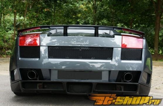 Задний бампер Veilside Premier 4509 на Lamborghini Gallardo 03+