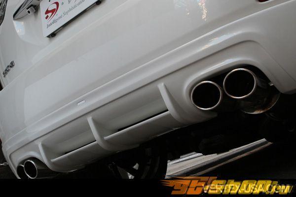 Губа на задний бампер Vertex ISM на Lexus RX 2004-2009