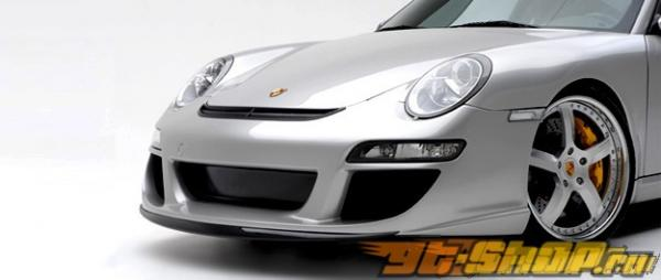 Передний бампер Vorsteiner V-GT DVWP для Porsche 997 05+