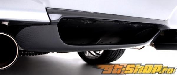 Карбоновый диффузор на задний бампер Vorsteiner для BMW E60 M5 05+
