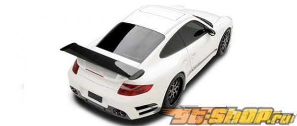 Карбоновый задний бампер Vorsteiner V-RT для Porsche 997 TT 07+