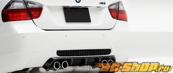 Карбоновый диффузор на задний бампер Vorsteiner VRS Type II на BMW E90 M3 седан 08+