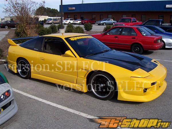 Аэродинамический обвес Version Select V1 на Nissan 180SX