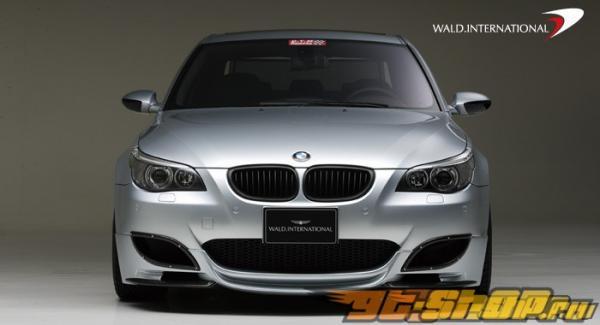 Накладка на передний бампер Wald International на BMW E60 M5 06+