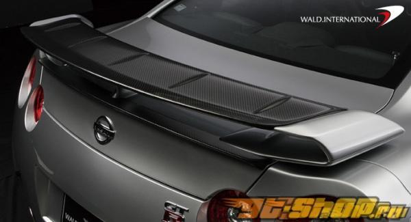 Карбоновый обвес Wald International на Nissan Skyline R35 GTR 09+