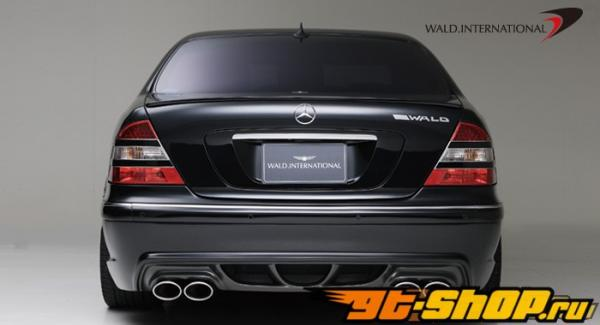 Задний бампер Wald International Version 3 для Mercedes S500 S600 00-06