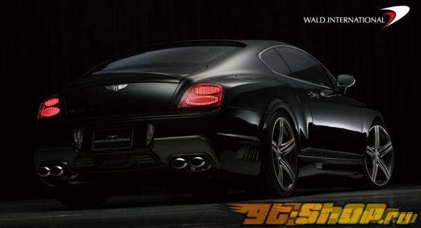 Задний бампер Wald International на Bentley Continental GT 03+