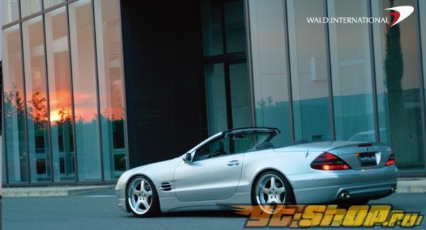 Спойлер Wald International на Mercedes SL500 SL600 03-06
