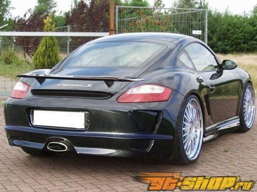 Задний бампер Xtreme Motorcars 997 GT3 Стиль на Porsche 987 Boxster 05+