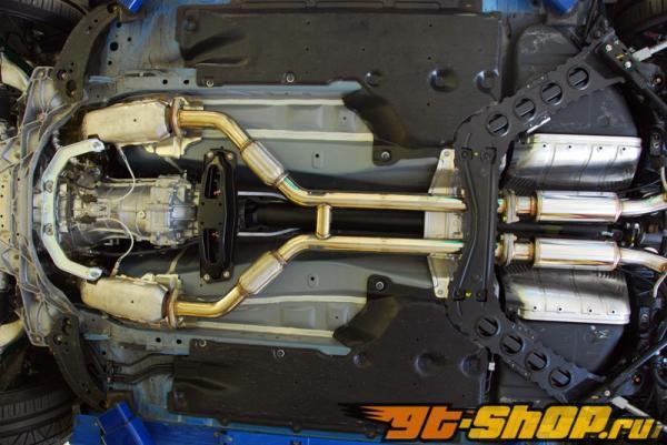 MXP Dual Выхлопная система Nissan 370Z 09-12