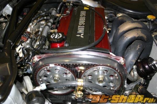 Zaklee Clear Cam Gear Cover Mitsubishi EVO VIII 03-05