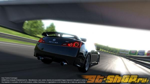 Накладка на задний бампер Zele Performance GT на Infiniti G37 08+