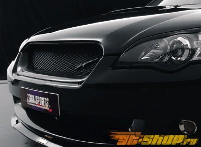 Карбоновая решётка радиатора Zerosports для Subaru Legacy GT 05+